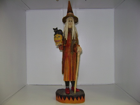 BL-CC7880 Cat Jack-o-Lantern Witch
