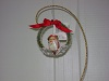 BL-BE100284 Christmas Wreath Hanging Ornament