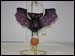 BL-RU6112A Bat with Pumpkin Ornament