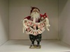 BL-BE23019 Polyester Santa w/ Merry Christmas Garland
