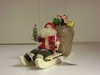 BL-BE29242 Santa & Sled with Bag of Toys